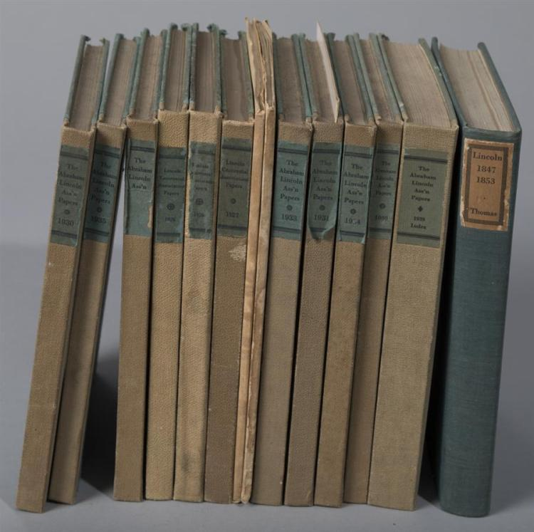 Lincoln Association Papers; 14 miscellaneous volumes, 1926 – 1949.
