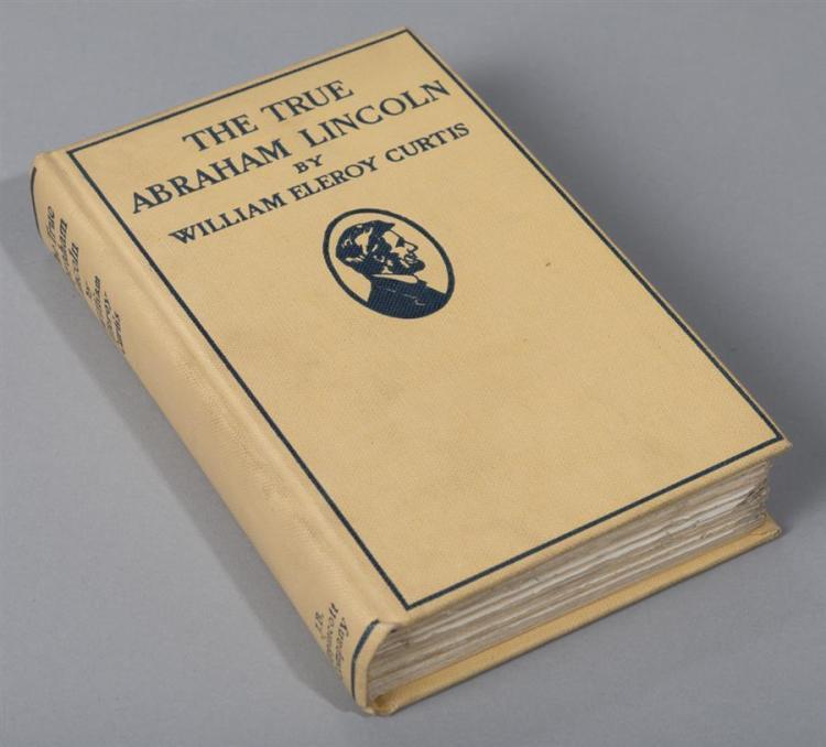 Curtis, William Eleroy: The True Abraham Lincoln; Lippincott, 1902.