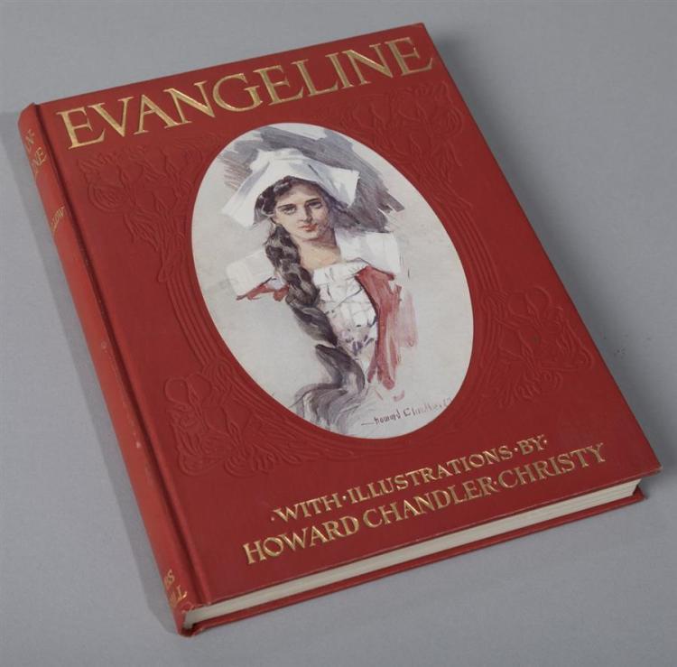 Longfellow, Henry Wadsworth: Evangeline. Bobbs-Merrill, 1905.