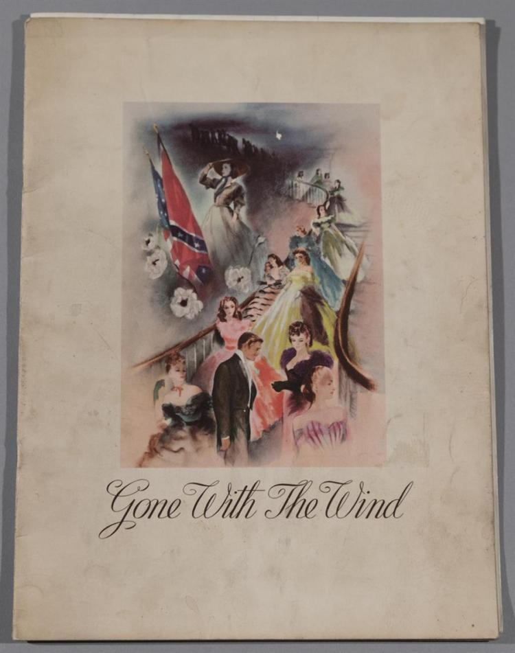 Gone With the Wind, official movie program, 1939