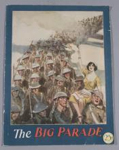 The Big Parade, MGM, 1925, vintage movie program
