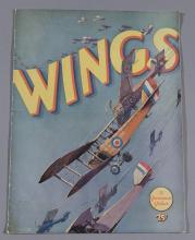 Wings, Paramount Pictures 1927 original movie program