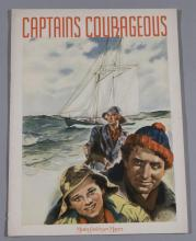 Captains Courageous, 1937 MGM film original movie program