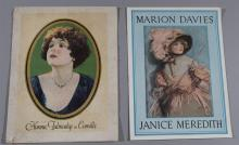 Two vintage movie programs: Janice Meredith, 1924; and Camille, 1927/