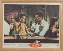 Cash McCall, Warner Brothers, 1960 featuring Natalie Wood and James Garner, lobby card.