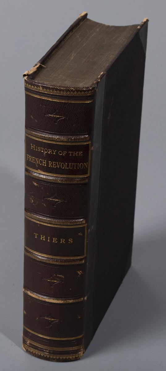 Thiers, Adolphe: History of the French Revolution; London 1853