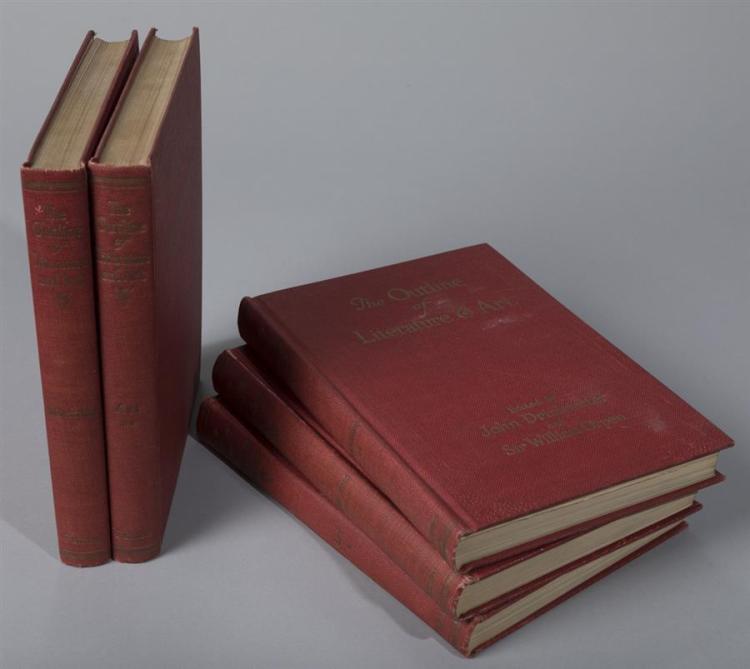 Drinkwater, John: The Outline of Literature and Art; Putnam's, 1923; five volumes.