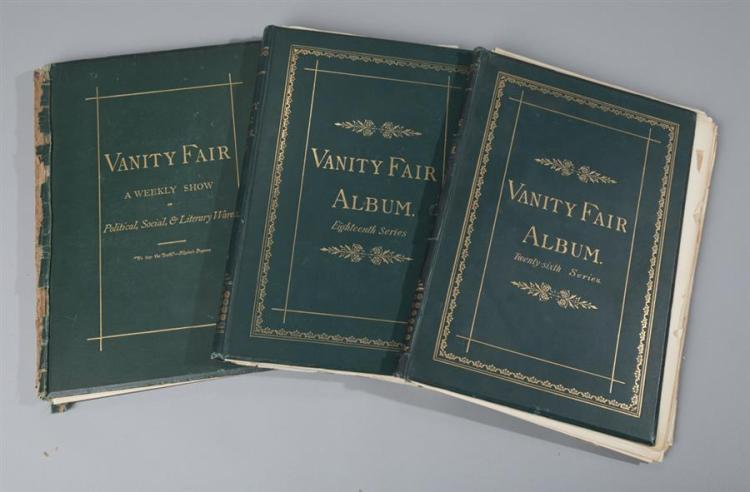 Vanity Fair Album, three volumes.