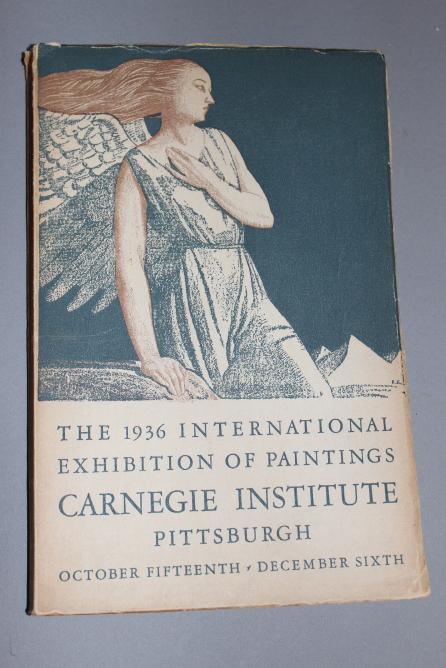 the 1936 International Exhibition of Paintings, Carnegie Institute, Pittsburgh