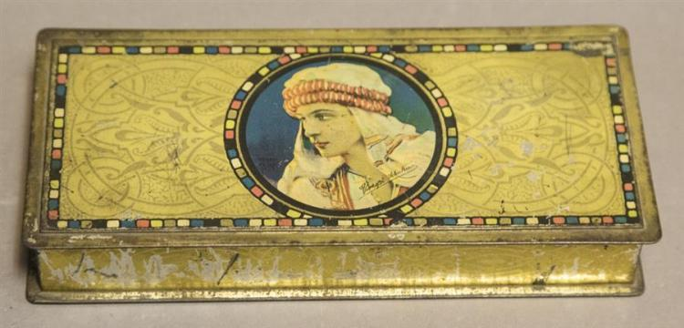 Rudolph Valentino, beaute box