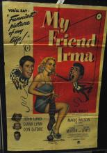 My Friend Irma, Paramount Pictures, poster, 1949, unframed.