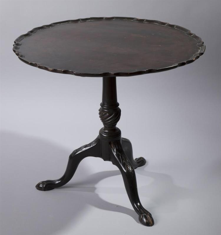 English 18th century flip top tea table for Table th link