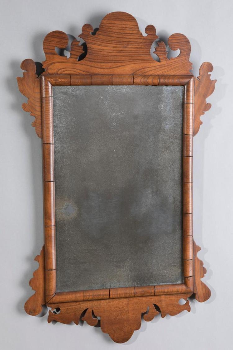 Antique american federal wall mirror for Antique wall mirrors