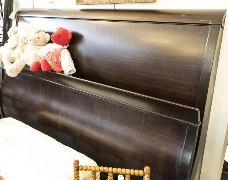 King Size Sleigh Bed Including A Headboard Footboard And S
