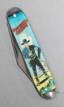 Original Hopalong Cassidy pocket knife made by Novelty Cutlery in Ireland