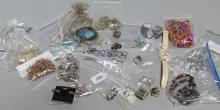 Assortment of twenty-four pieces of costume jewelry including Chicos Jewelry