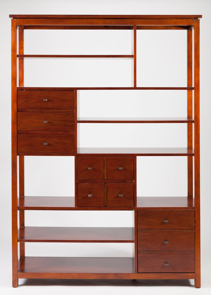Modern Design Partition Shelving Unit