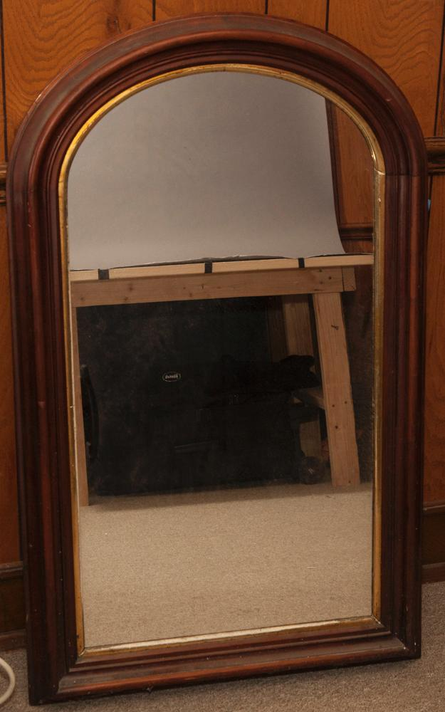 Edwardian style mirror in wooden frame for Mirror frame styles