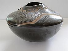 Santa Clara Blackware Jar