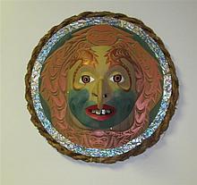 Modern Northwest Coast Sun Mask