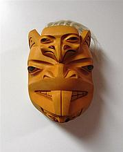 Dempsey Bob (b.1948) Canadian, Northwest Coast Mask
