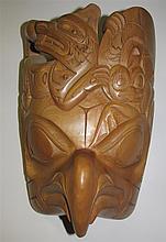 Darryl Baker (b.1976) Northwest Coast Cedar Mask
