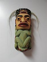 Stan Bevan (b.1961) Canadian, Guardian Mask