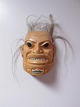 Stan Bevan (b.1961) Canadian, Warrior Mask