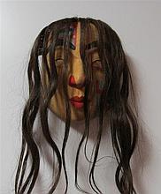 Glen Rabena, American (adopted Haida) Northwest Coast Portrait Mask
