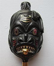 Darrell White (b. 1960) Haida, Carved Argillite Rattle