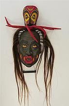 Northwest Coast Articulated Wood Mask