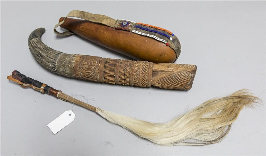 Three unusual African items