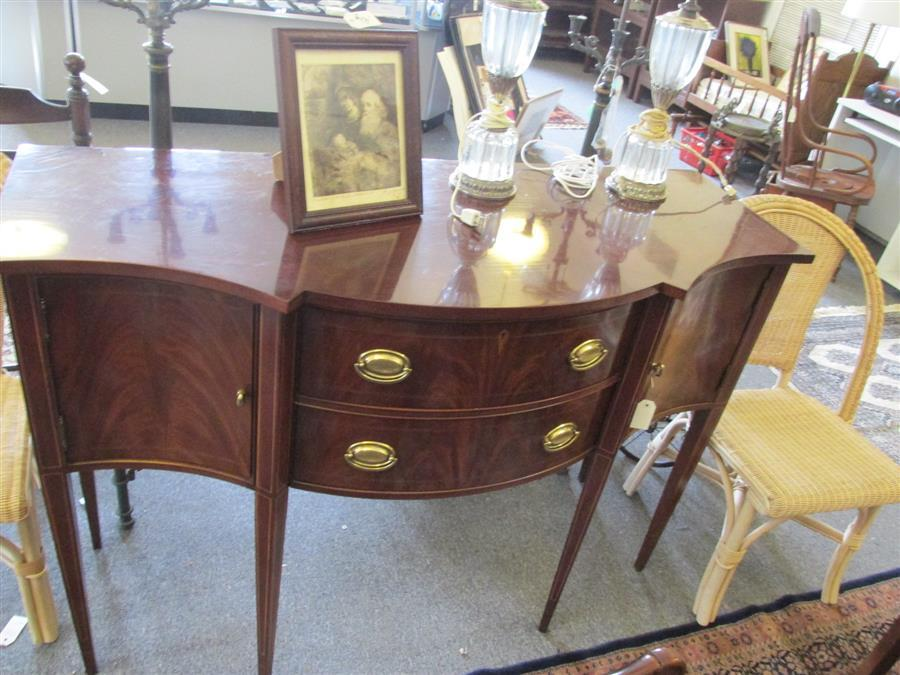 Lot 5: Hickory Chair Furniture Co