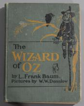 Baum, L. Frank: The New Wizard of Oz; the Bobbs-Merrill Company, 1903, Indianapolis