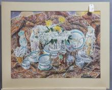 Elizabeth Cavanagh Cohen, St. Louis, watercolor,