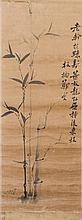 ZHENG XIE (ZHENG BANQIAO) (ATTRIBUTED TO, 1693-1765), BAMBOO AND ROCK
