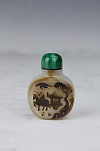 Agate Snuff Bottle