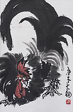 CHEN DAYU (1912-2001), ROOSTERS