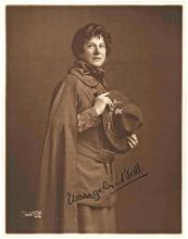 Scarce Signed Photo of Evangeline Booth, First Female General of the Salvation Army