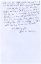Autograph Letter Signed by Anne Morrow Lindbergh, Aviatrix and Author