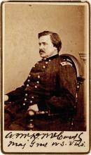 Signed CDV Photo of Highest Ranking Officer of Civil War's