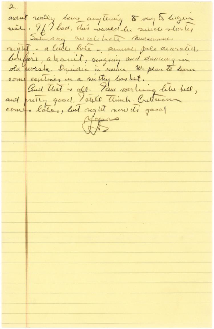 Lengthy John Steinbeck Autograph Letter: