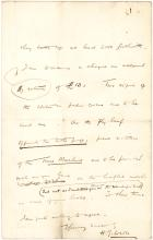 Very Early Letter by HG Wells Mentioning His Most Famous Work, The Time Machine