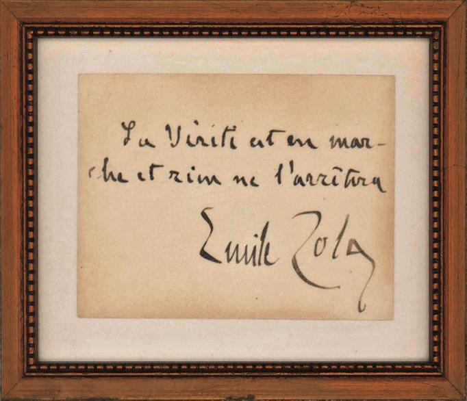 Zola's Immortal Words on Dreyfus Affair: