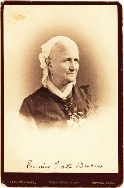 Rare Signed Photo of Eunice Beecher, 19th Century's Most Famous Scorned Woman