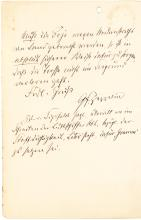 Important Zeppelin Autograph Letter on Problem of Anchoring Airships on Water