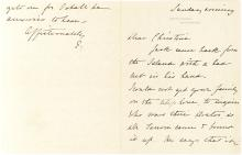 Uncommon First Lady Edith Roosevelt Autograph Letter on White House Stationery