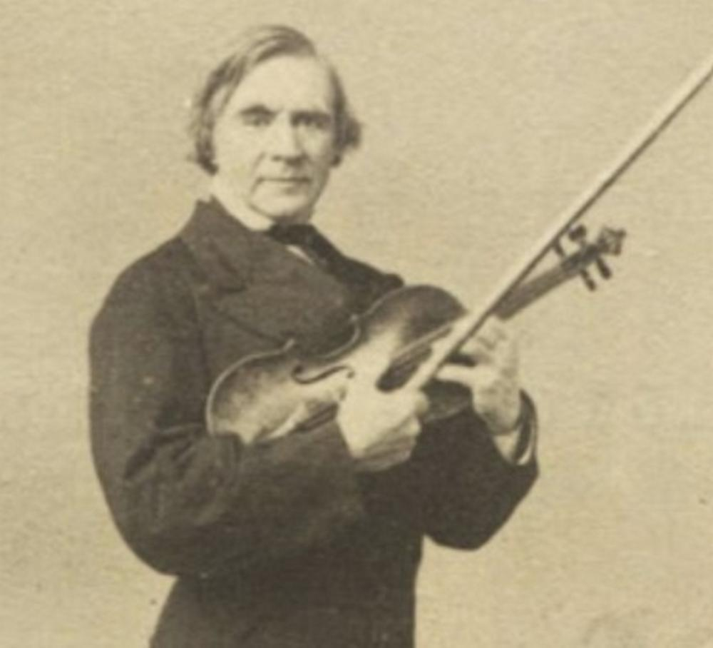 ALS by Norwegian Violinist Ole Bull from Selma, Alabama, to the President of NY Philharmonic Society