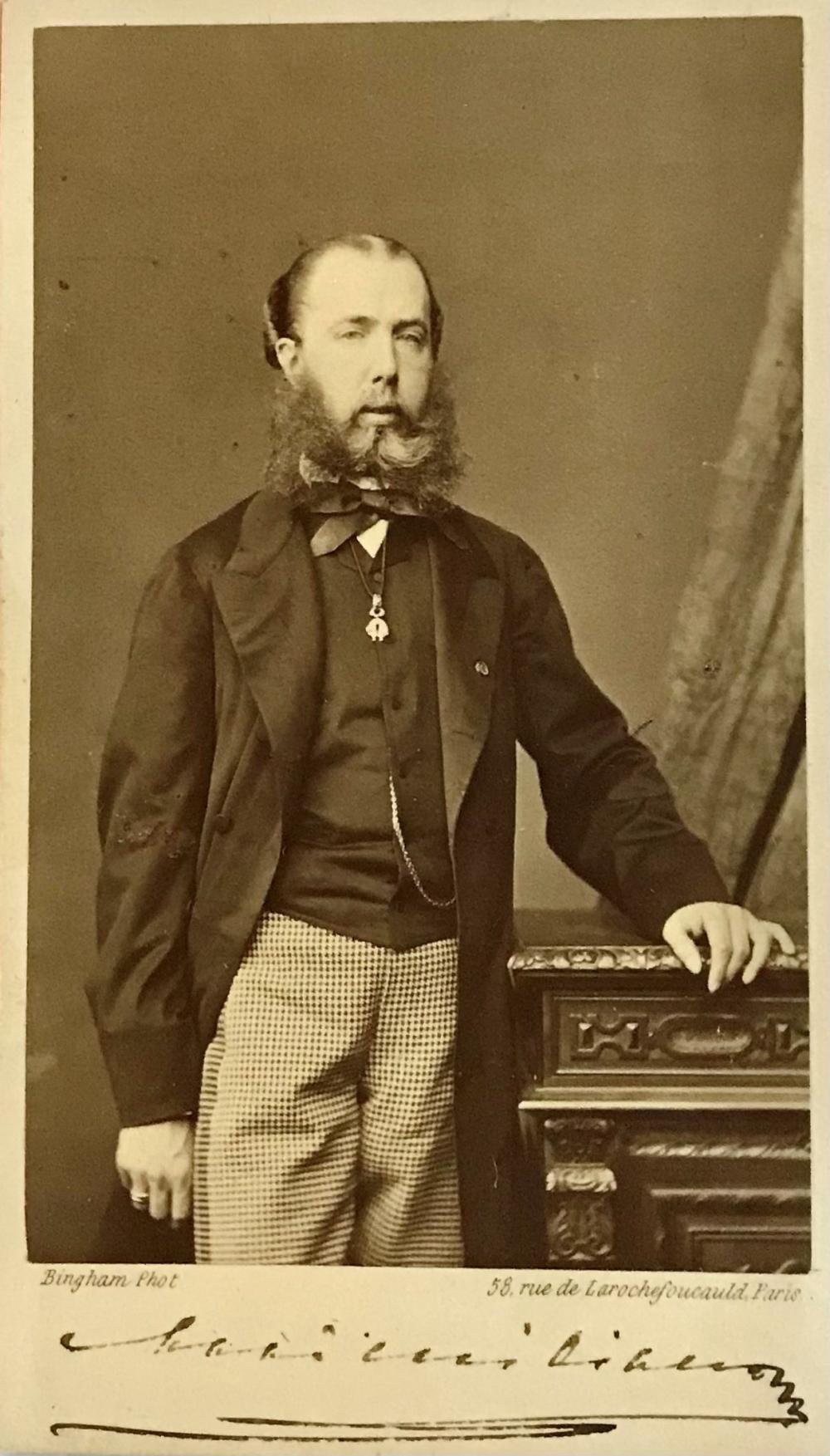 Rare Maximilian, Emperor of Mexico, Signed Photograph