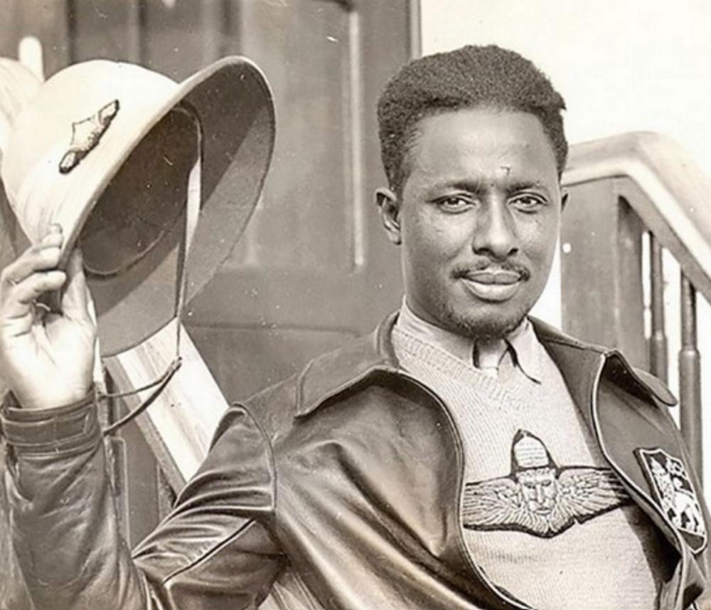"""Father of the Tuskegee Airmen,"" Col. John Robinson"